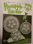 "Coats and Clarks ""Pineapple Fan-Fair"" Book No. 266"