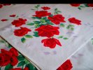 Wilendur American Beauty Roses Tablecloth